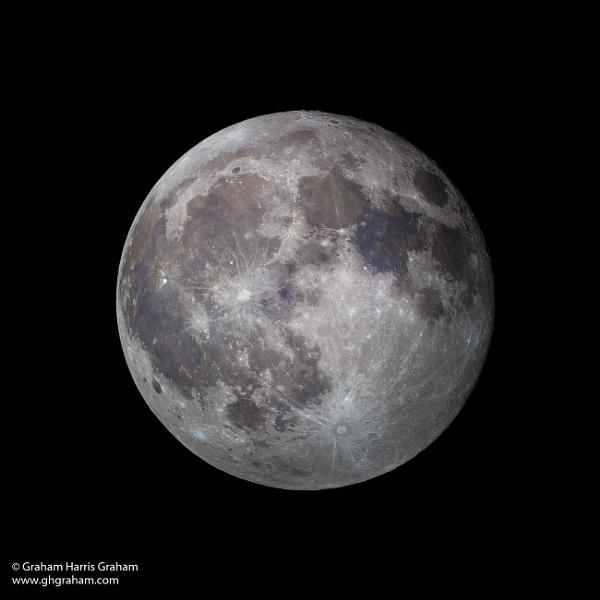 St Andrews Day Full Moon by GHGraham