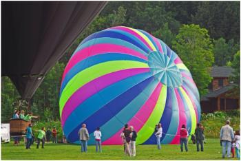 Stowe Mountain Resort Balloon Festival  (best viewed large)