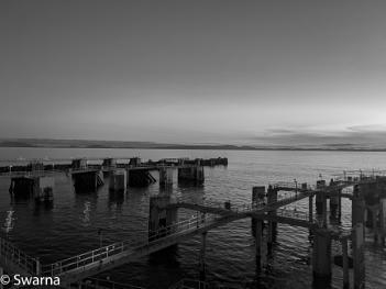 View from Tsawwassen Ferry Terminal...