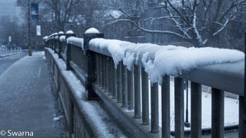 Snow in Toronto...