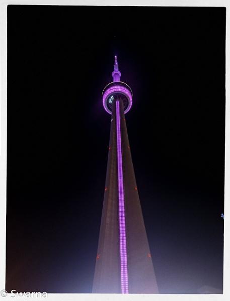 CN Tower, Toronto by Swarnadip