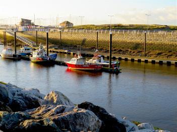 Boats at Kinmel Bay