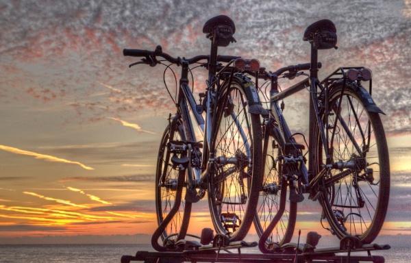 Sunrise i love you mrs bike. by carper123