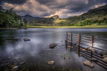 Blea tarn Lake District Cumbria (UK)