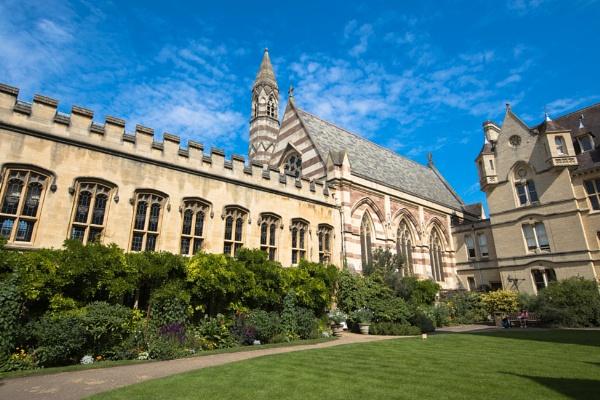 Balliol Collage Chapel, Oxford by Trekmaster01