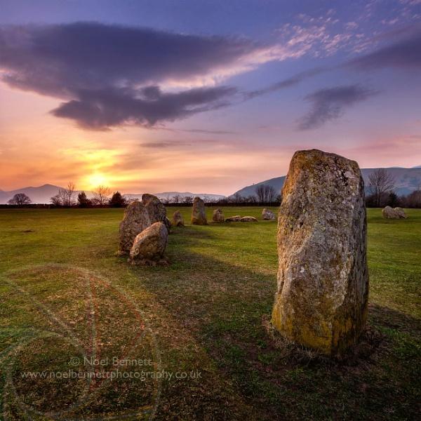 Light On Stone by NoelBennettPhotography