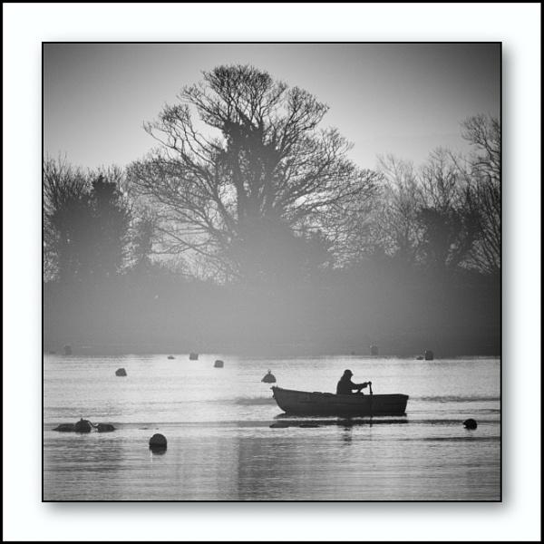 A Man Among Buoys by Minty805