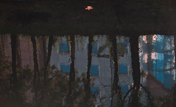 River reflection by LaoCe