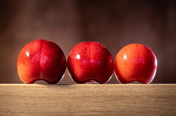 Sitting Cherries by Acancarter