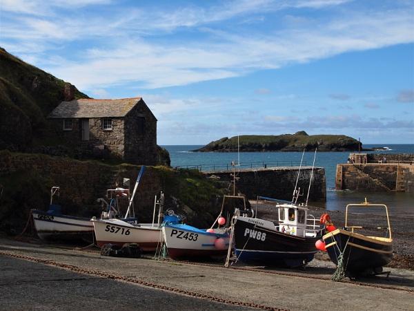 Cornish boats by GwB