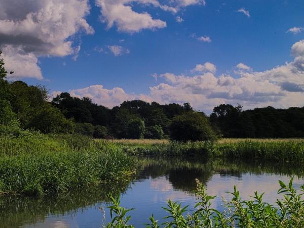 River bend by GwB