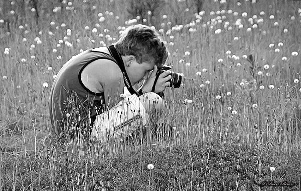 Budding photographer by IamDora
