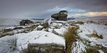 Black Rock panorama