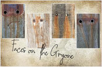 Faces on the Groyne
