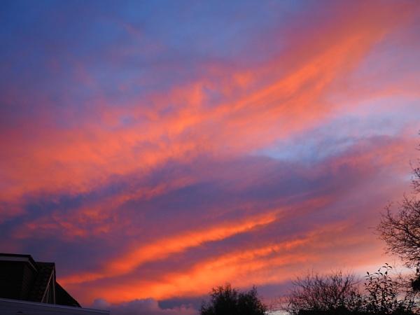 sunset by derekd