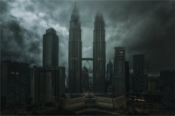 Dawn over Petronas by KingBee