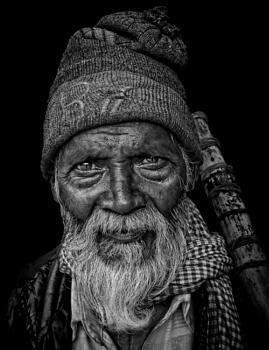 A wandering pilgrim.........
