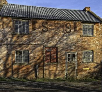 Shadows on Gallows Hill Barn