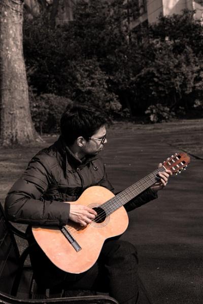 Guitarist (classical) by Alfie_P