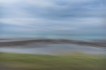 Abstract sea view