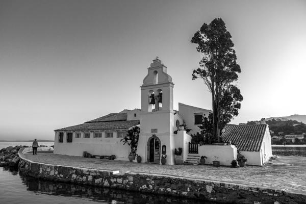 Vlacherna Monastery. by travelslide
