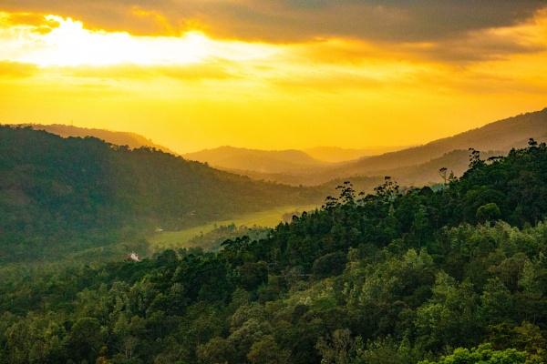 Indian Sunset by StuartDavie