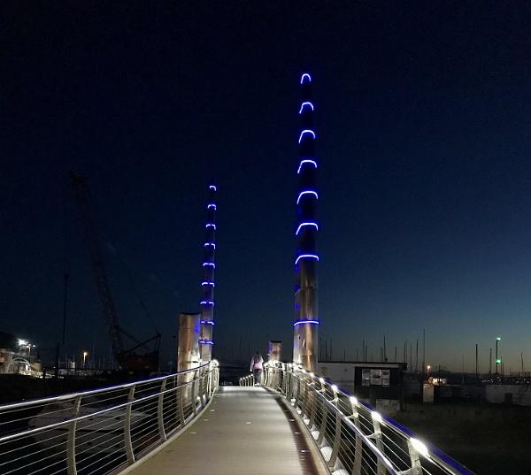 Torquay footbridge by caj26