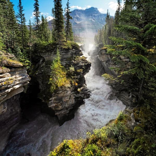 Athabasca Falls by MAK54