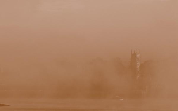 Church in the Mist by johnke