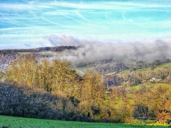 Misty Valley by Richardjwills