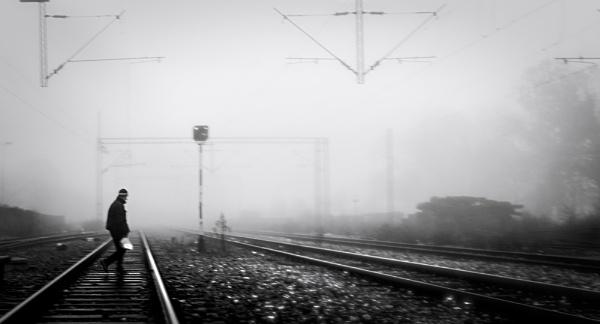 About the railway XVIII by MileJanjic