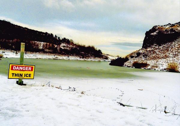 Winter scene by Pinarellopete