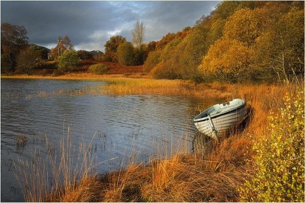 Achray in Autumn by MalcolmM