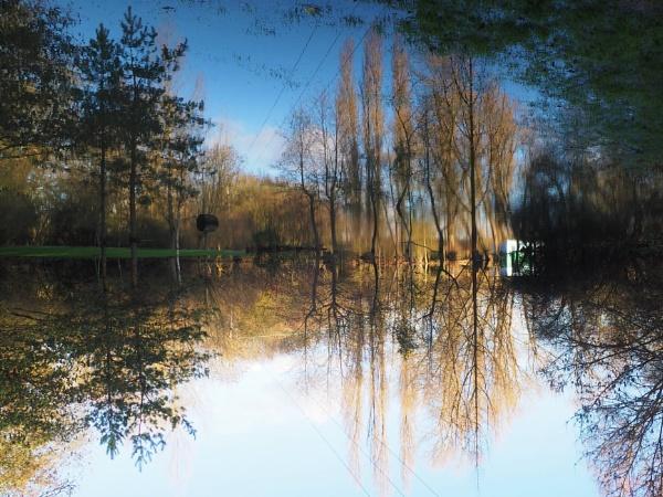 Flooded gibbard gardens essex by GwB