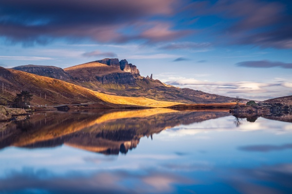 The Storr from Loch Fada by John_Frid