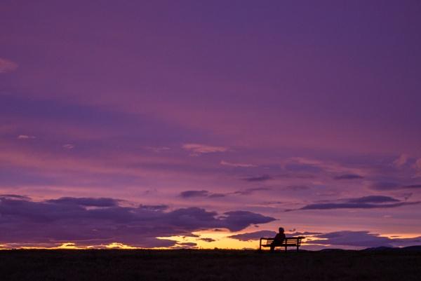 Watching the sun set. by Osool