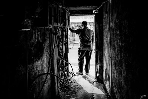 Dangerous exit... by clicknimagine