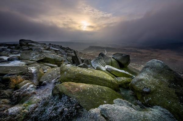 towards Carl Wark by DaveShandley