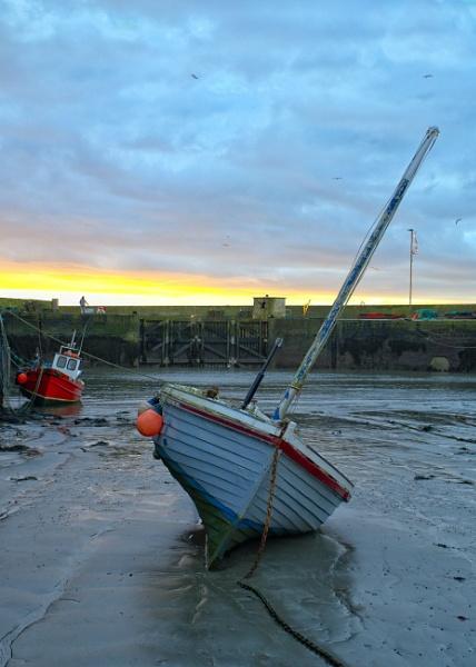 Low tide on it\'s side by EddyG