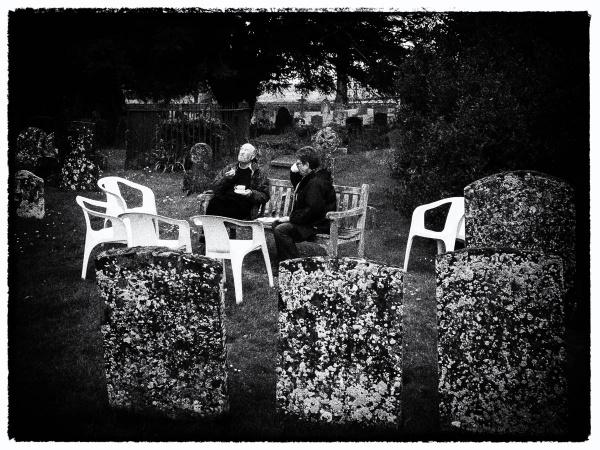Tea in the Graveyard by RolandC