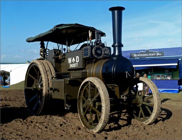 """World War I steam engine \""""Gigantic\"""" by JuBarney"""