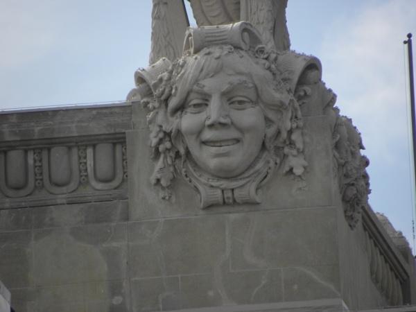 Smiling stone by voyger1010