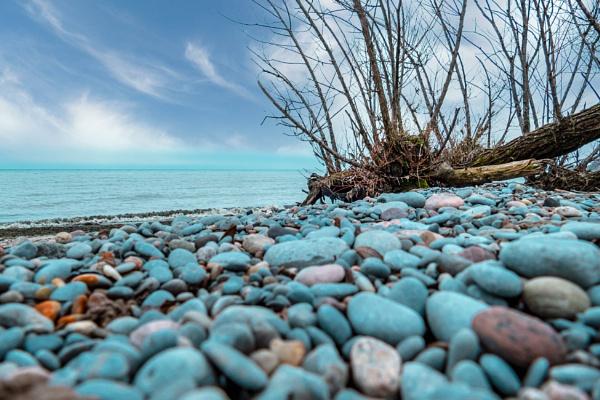 Lake Shore Scene by manicam
