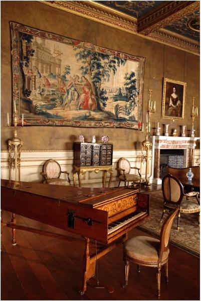 Harpsichord, Chirk Castle by johnriley1uk