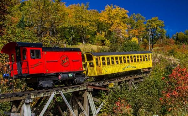Mount Washington Railway by RonDM