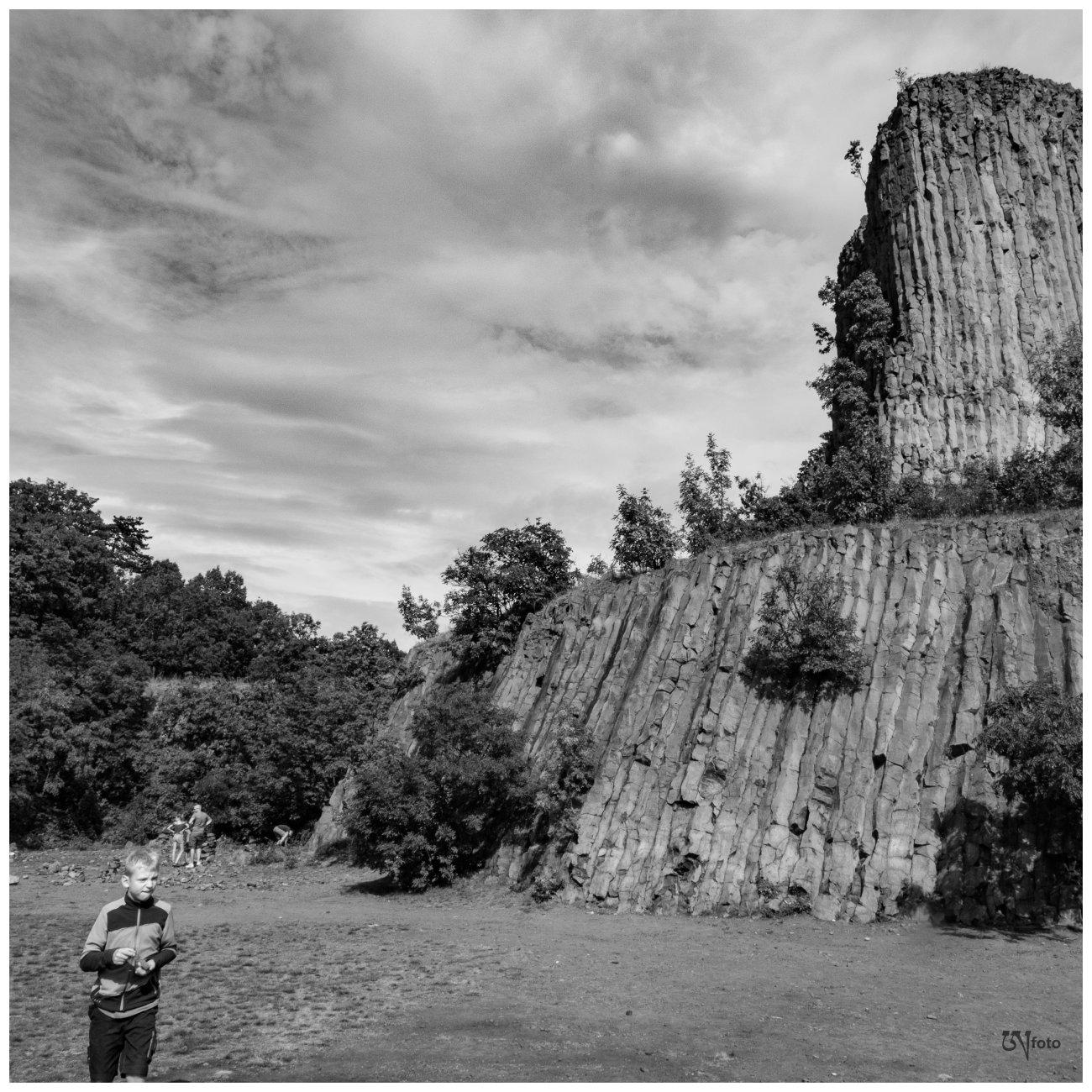 Hegyestű Geological Visitor Site, Monoszló, Hungary