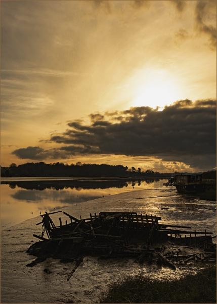 River Deben by AlfieK