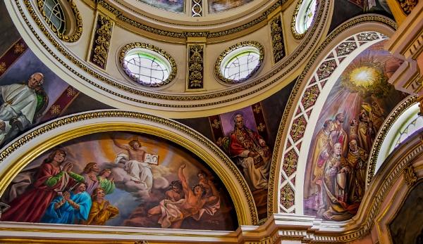 Lunette ZEBBUG PARISH CHURCH by Edcat55