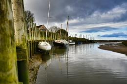 Blakeney Estuary, Norfolk.