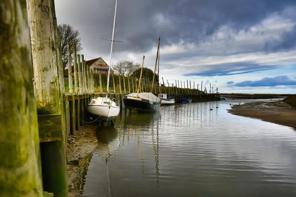 Blakeney Estuary, Norfolk. by Peterdrainage